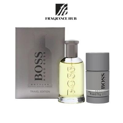 Hugo Boss Bottled No.6 100ml Travel Gift Set (By: Fragrance HUB)