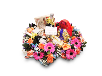 Tradition Gourmet Gift Basket (By: Weiss Flora & Gift From JB)