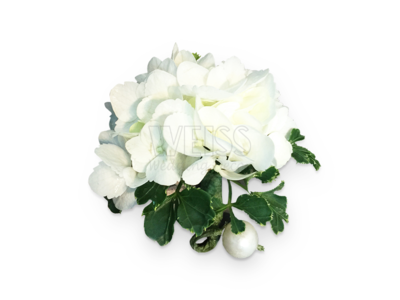 Classic White Corsage (By: Weiss Flora & Gift From JB)