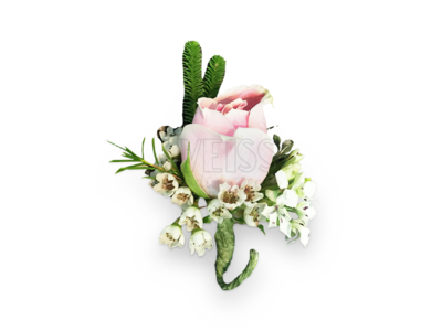 Graceful Pink Corsage (By: Weiss Flora & Gift From JB)