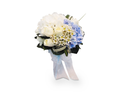BRIDAL BOUQUET (White) (By: Weiss Flora & Gift From JB)