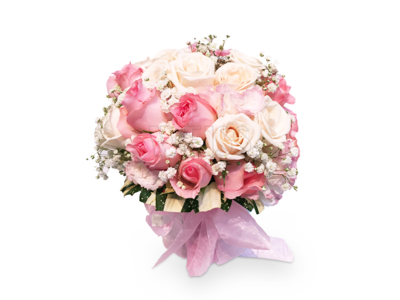 BRIDAL BOUQUET (Pink) (By: Weiss Flora & Gift From JB)
