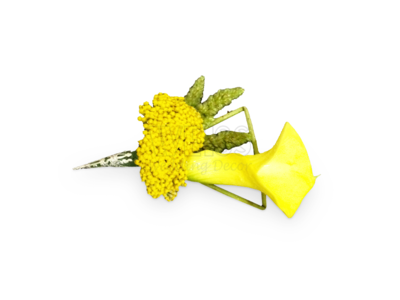 Yellow Sunshine Corsage (By: Weiss Flora & Gift From JB)