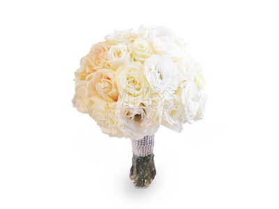 BRIDAL BOUQUET (White Rose) (By: Weiss Flora & Gift From JB)
