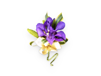 Elegance Purple Corsage (By: Weiss Flora & Gift From JB)