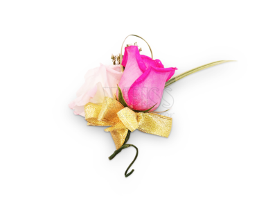 Pink Rose Corsage (By: Weiss Flora & Gift From JB)