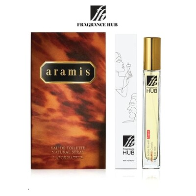 Aramis Classic  EDT Men 10ML Travel Size Perfume (Refill by Fragrance HUB) 🎁 FREE FH 15% Discount Voucher!