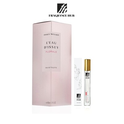 Issey Miyake L'Eau d'Issey Florale EDT Lady 10ML Travel Size Perfume (Refill by Fragrance HUB) 🎁 FREE FH 15% Discount Voucher!