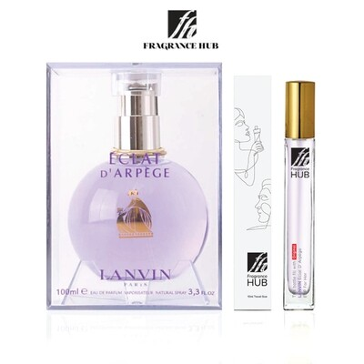 Lanvin Eclat EDP Lady 10ML Travel Size Perfume (Refill by Fragrance HUB) 🎁 FREE FH 15% Discount Voucher!