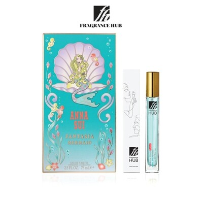 Anna Sui Fantasia Mermaid EDT Lady 10ML Travel Size Perfume (Refill by Fragrance HUB) 🎁 FREE FH 15% Discount Voucher!