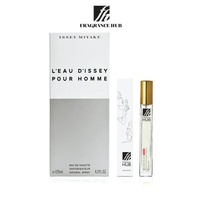 Issey Miyake L'Eau d'Issey Pour Homme EDT Men 10ML Travel Size Perfume (Refill by Fragrance HUB) 🎁 FREE FH 15% Discount Voucher!