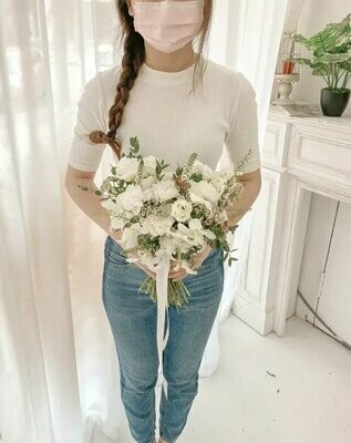 White Foxy (By:Temptation Florist from Seremban)
