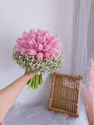 Tulips Lady (By:Temptation Florist from Seremban)