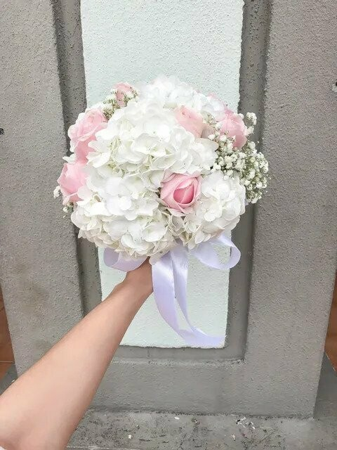 Snow Pink (By: Temptation Florist from Seremban)