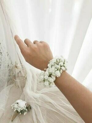 Bridal Hand Wrist Corsage #1 (By: Temptation Florist from Seremban)