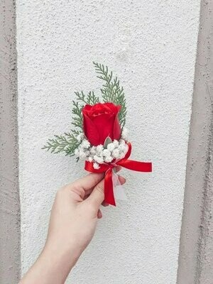 Boutonniere #2 (By: Temptation Florist from Seremban)