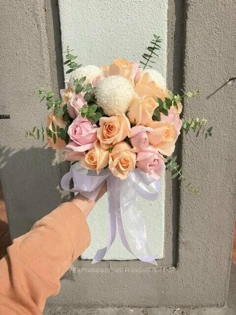 Pastel Cream (By: Temptation Florist from Seremban)