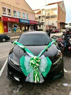 Bridal Car Big Ribbon Bow #3 (By:Temptation Florist from Seremban)