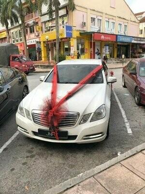 Bridal Car Deco Nets #10 (By:Temptation Florist from Seremban)