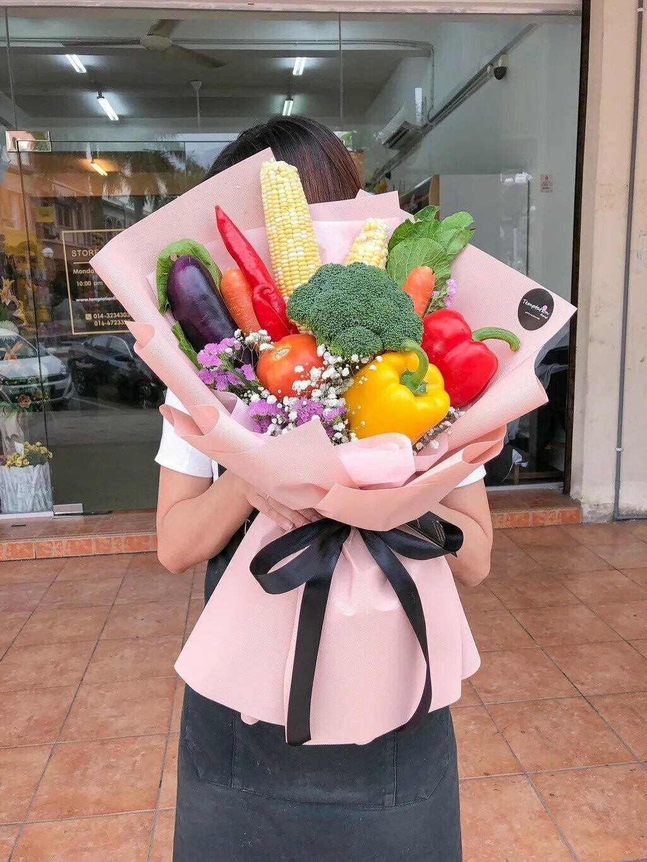 Vege Style (By: Temptation Florist from Seremban)