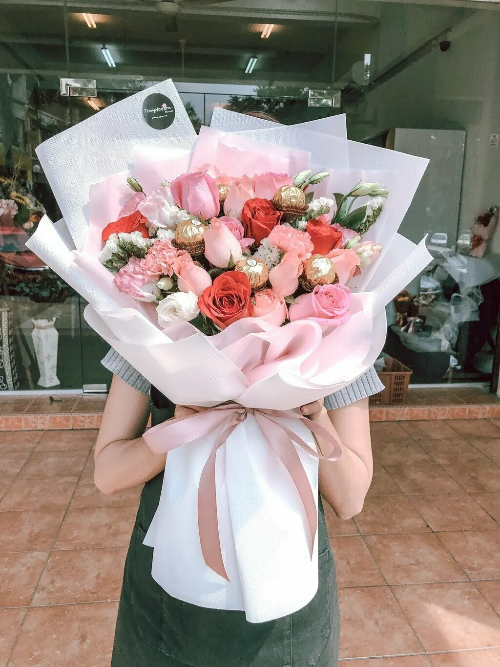 Pretty in Pink (By: Temptation Florist from Seremban)