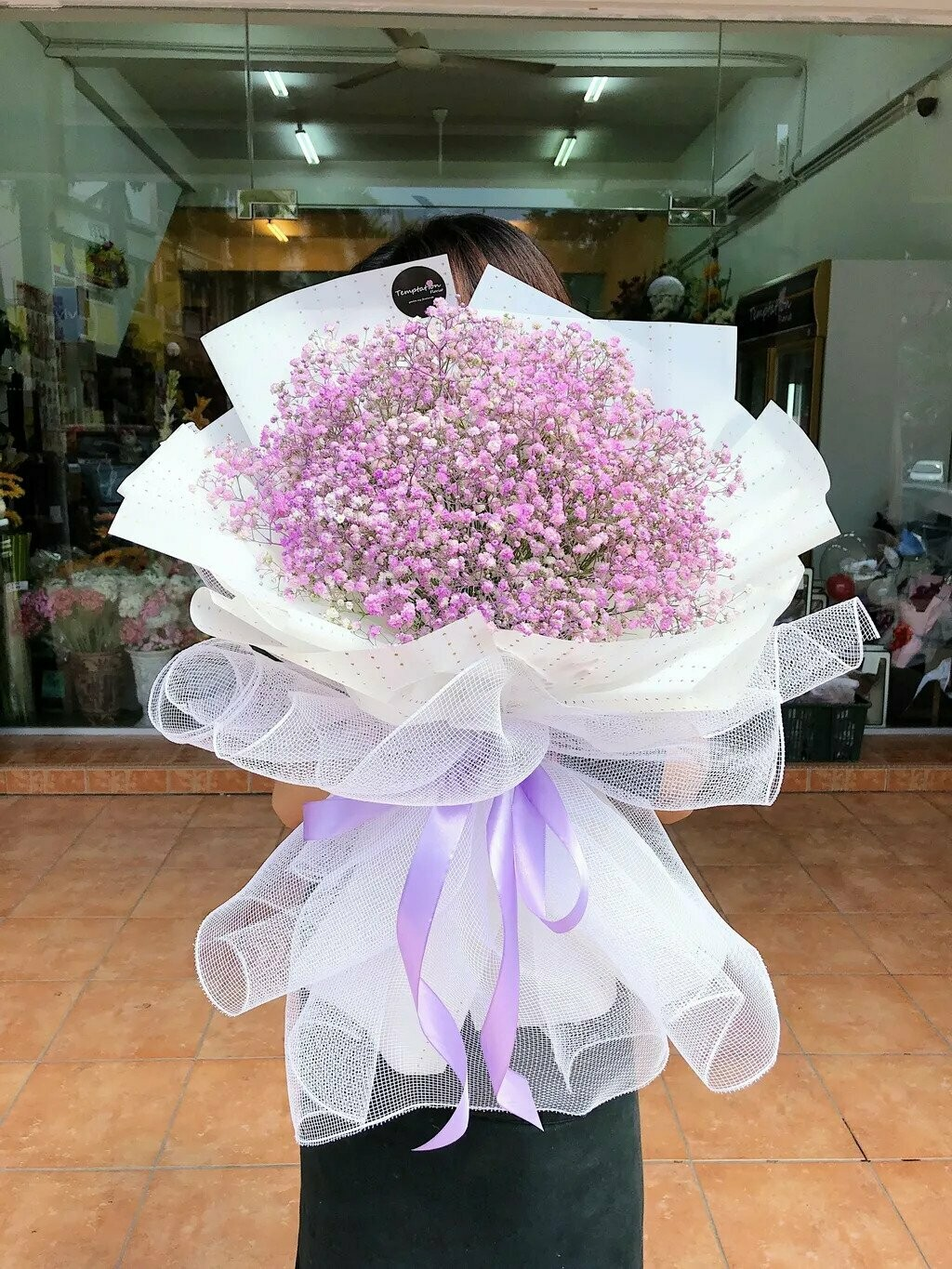 Baby Purple (By:Temptation Florist from Seremban)