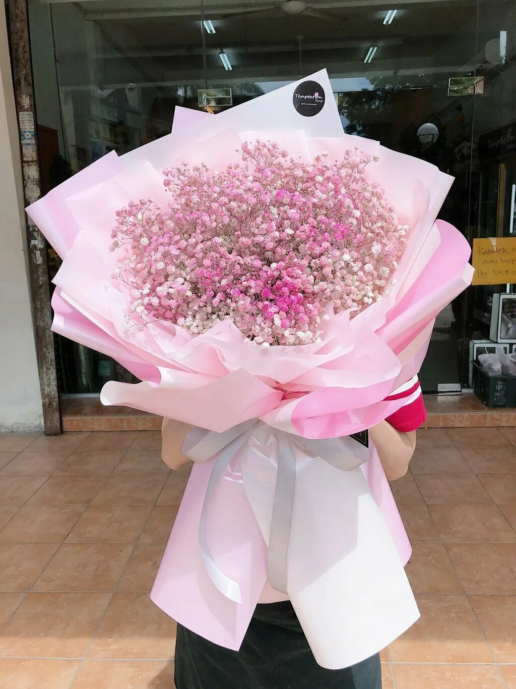 Baby Pink (By: Temptation Florist from Seremban)
