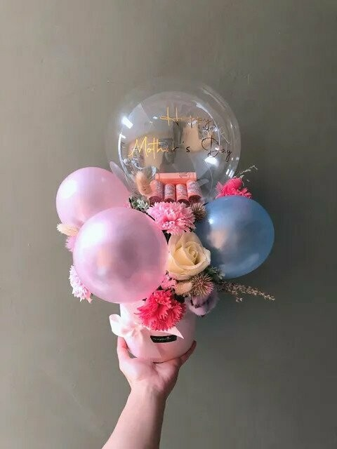 Bloom Bubble (By: Temptation Florist from Seremban)