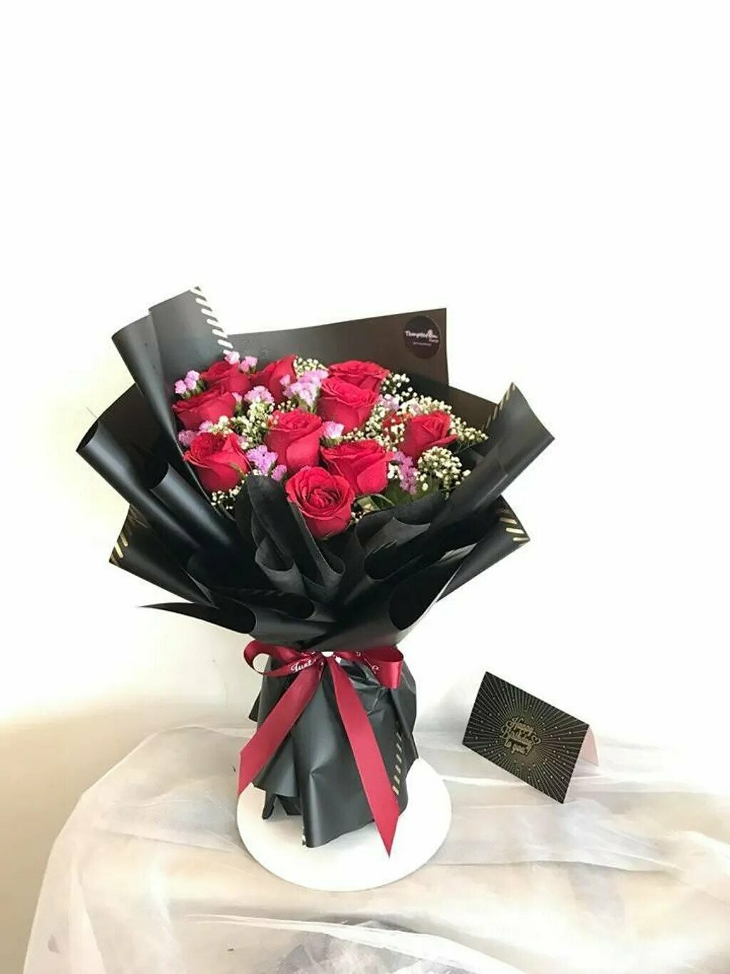 Cherry Red (By: Temptation Florist from Seremban)