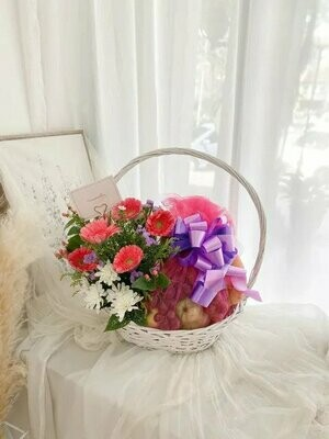 Fruit Basket #11 (By:Temptation Florist from Seremban)