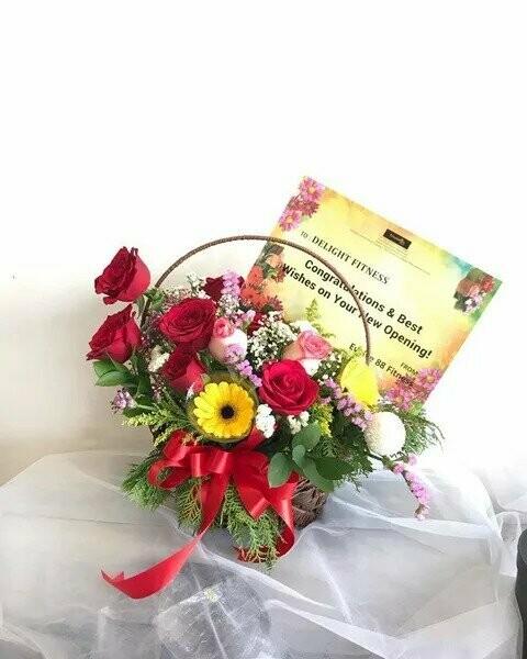 Brighter Wish (By: Temptation Florist from Seremban)