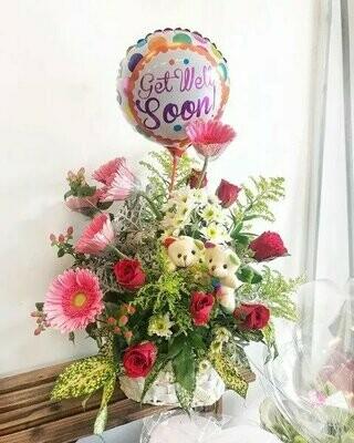 Babra Get Well Soon (By:Temptation Florist from Seremban)