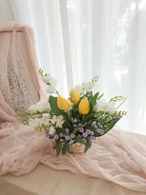 Flower Pot Arrangement #33 (By: Temptation Florist from Seremban)