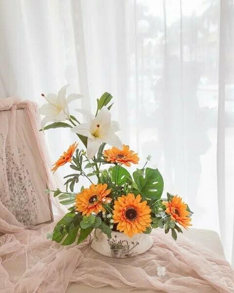 Flower Pot Arrangement #29 (By: Temptation Florist from Seremban)