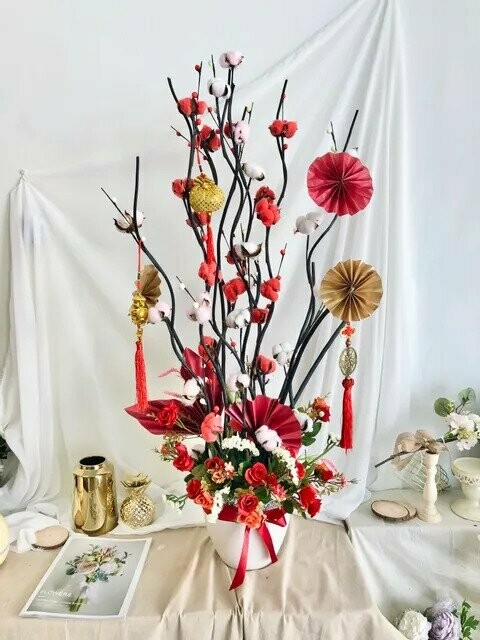 Flower Pot Arrangement #23 (By: Temptation Florist from Seremban)