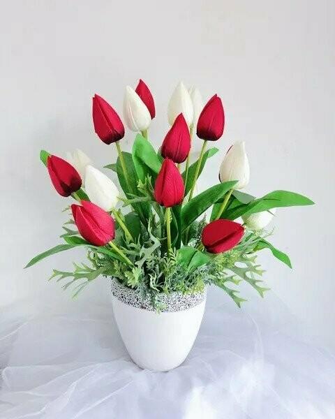 Flower Pot Arrangement #9 (By: Temptation Florist from Seremban)