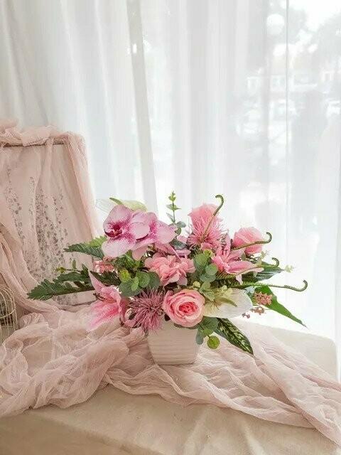 Flower Pot Arrangement #22 (By: Temptation Florist from Seremban)