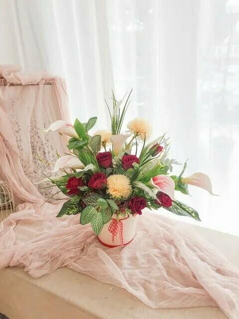 Flower Pot Arrangement #31 (By: Temptation Florist from Seremban)