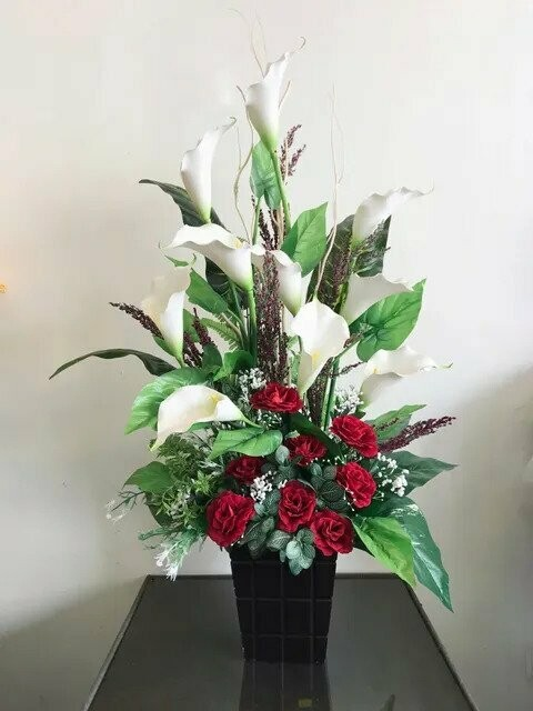 Flower Pot Arrangement #25 (By: Temptation Florist from Seremban)