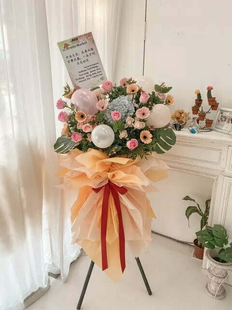 Mixed Grand Opening Flower Stand (By: Temptation Florist from Seremban)