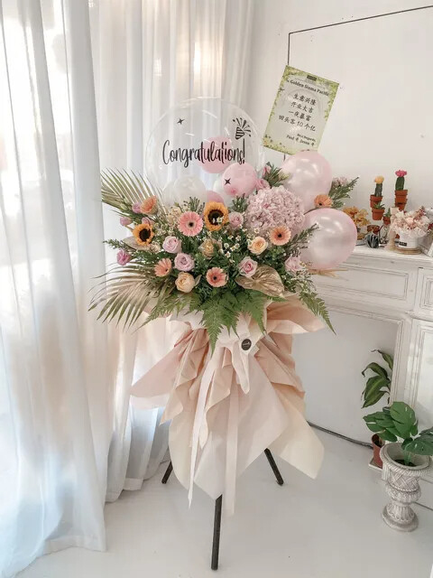 Paris Grand Opening Flower Stand (By: Temptation Florist from Seremban)