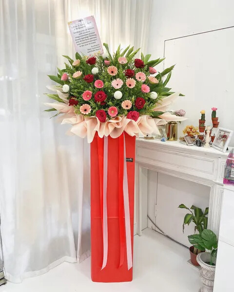 Dato Grand Opening Flower Stand (By: Temptation Florist from Seremban)