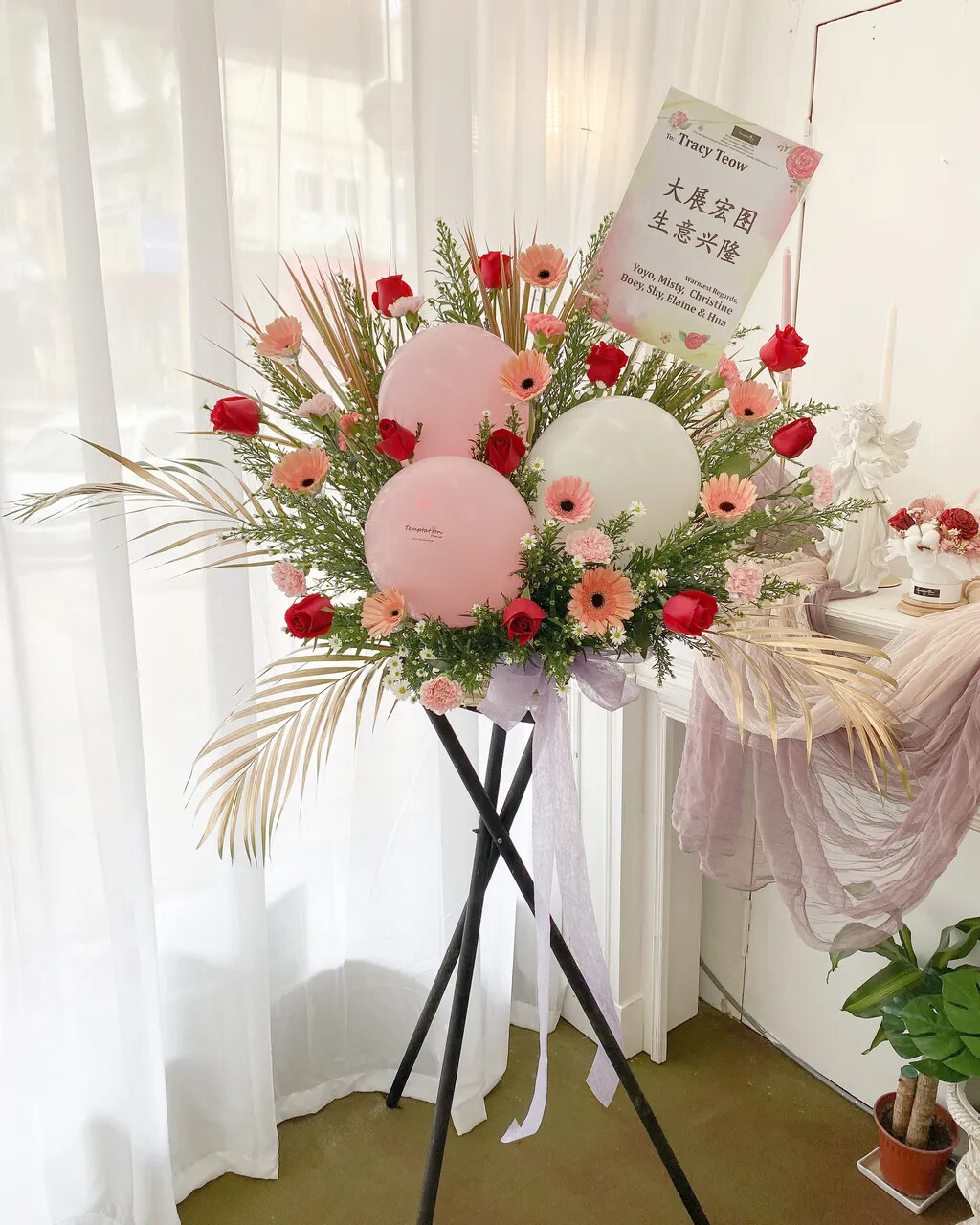 Moni Grand Opening Flower Stand (By: Temptation Florist from Seremban)