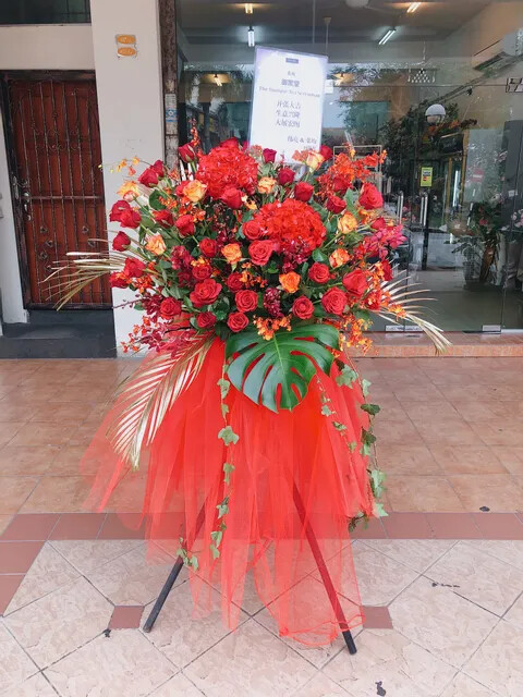 Morse Grand Opening Flower Stand (By: Temptation Florist from Seremban)
