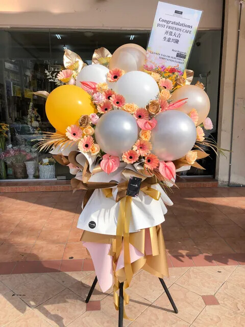 Starwish Grand Opening Flower Stand (By: Temptation Florist from Seremban)