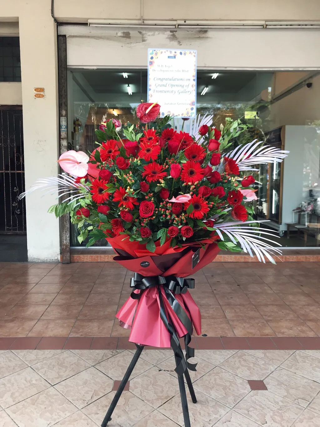 Paradise Grand Opening Flower Stand (By: Temptation Florist from Seremban)