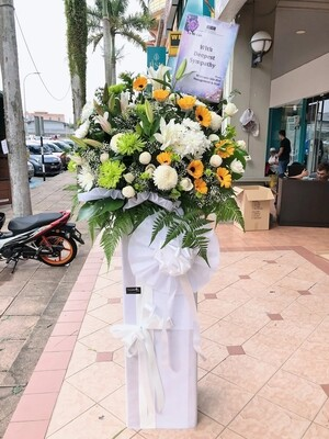 Melorious Condolence Flower Stand (By: Temptation Florist from Seremban)