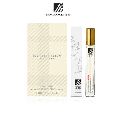 Burberry Weekend EDP Lady 10ML Travel Size Perfume (Refill by Fragrance HUB) 🎁 FREE FH 15% Discount Voucher!