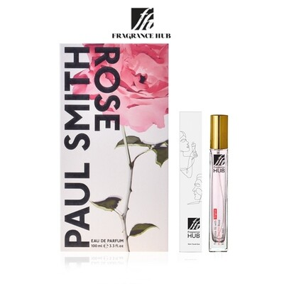 Paul Smith Rose EDP Lady 10ml Travel Size Perfume (Refill by Fragrance HUB) 🎁 FREE FH 15% Discount Voucher!