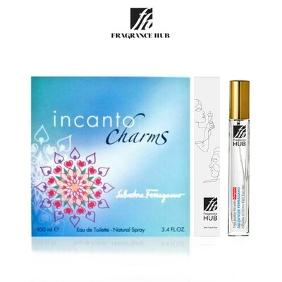 Salvatore Ferragamo Incanto Charms EDT Lady 10ml Travel Size Perfume (Refill by Fragrance HUB) 🎁 FREE FH 15% Discount Voucher!